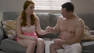 Arietta Adams is fully legal and ripe as hell and her stepdad wants to fuck her