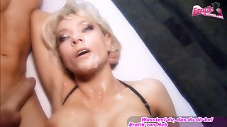 german big tits blonde threesome mmf