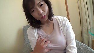 Big breast mature POV
