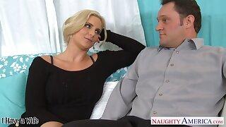 Sex-insane milf with big tits Phoenix Marie seduces married neighbor