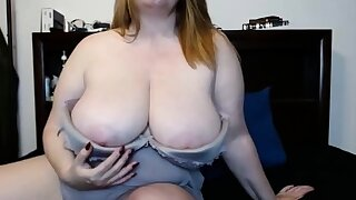 Chubby Fiona changing clothes