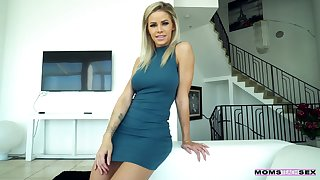 Temptress Jessa Rhodes gives her dope-fiend and gets fucked in hot POV scene