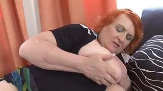 Piping hot grandmothers and filthy mature mothers porn video