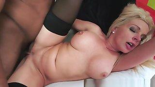 Busty Gilf Pussy Banged By Hard Black Cock