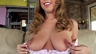 Carly Kaleb is a babe with a big tree who wants to be fucked