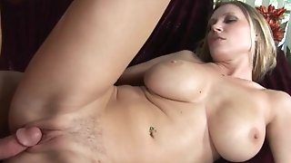 Red-hot cougar gets her titanic tasty mounds strewn with red-hot blast enquire about nail porn tube