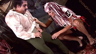Bizarre dealings session with hot nasty nurse Kelly Madison