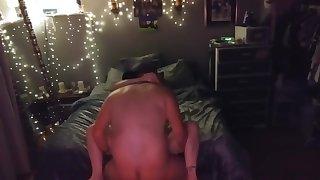 Cheating Redhead Wife caught on hidden cam fuckin with Neighbor fuckboy