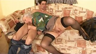 Astonishing porn video Mature watch just for you