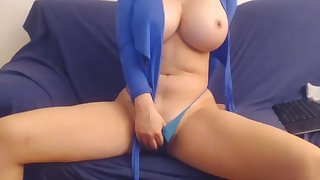 Big knockers angel  - webcam busty MILF solo